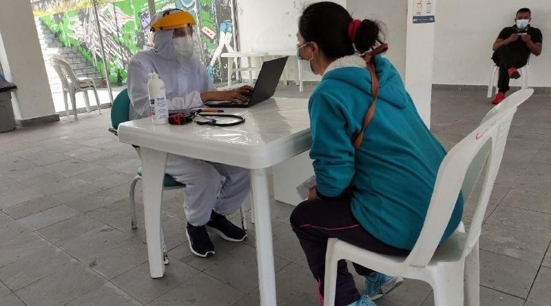 Brigadas comunitarias nuevamente activadas con triaje y pruebas diagnósticas de antígenos