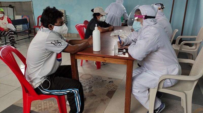 Brigadas comunitarias entregan resultados a las personas contagiadas de COVID19 en 30 minutos