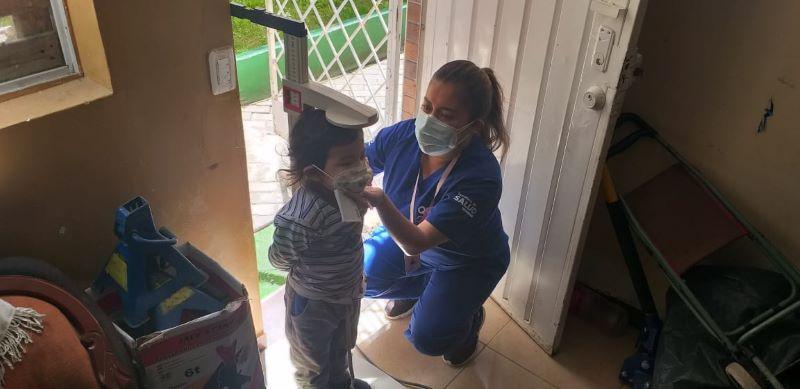 239 menores de 5 años identificados con algún tipo de malnutrición infantil