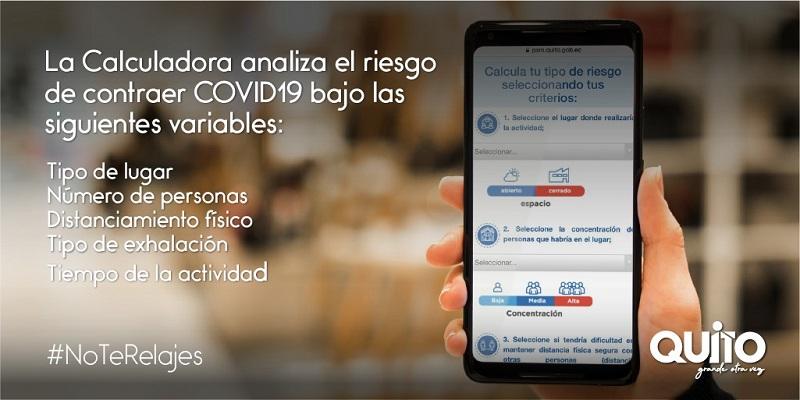 26 305 visitas virtuales en la Calculadora de Riesgo para la COVID-19