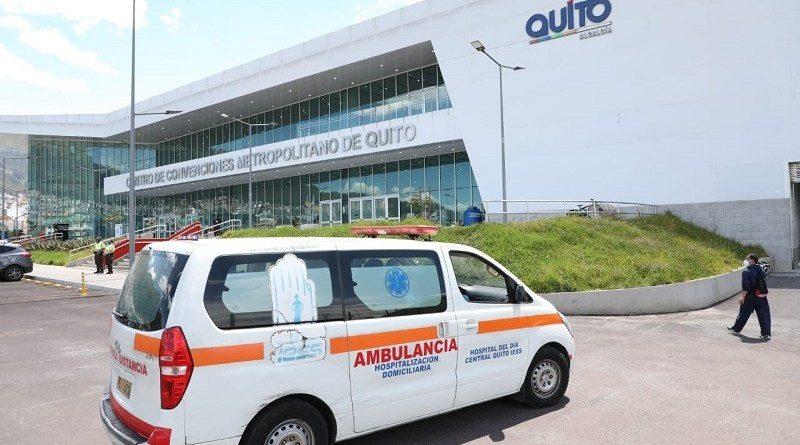 CAT 'Quito Solidario' reanuda servicio de triaje para pacientes COVID-19