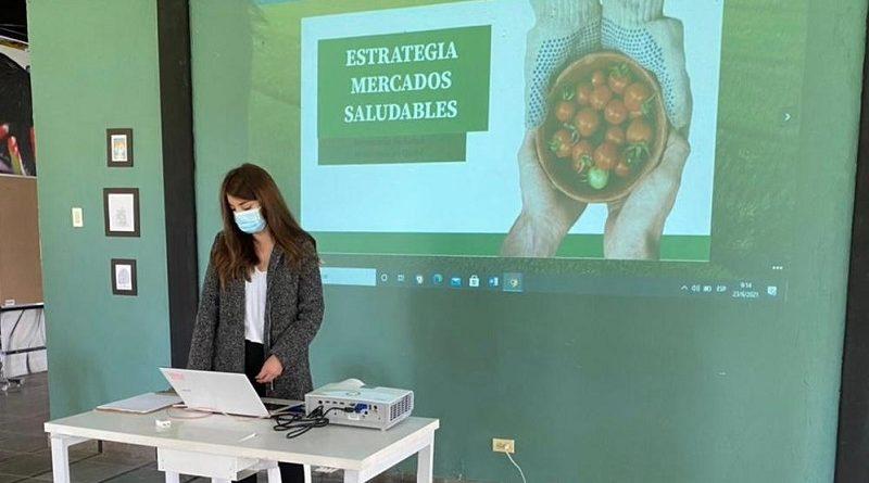 Se socializa los avances de la estrategia sobre mercados saludables