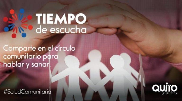 Rueda Comunitaria en Zona Manuela Sáenz
