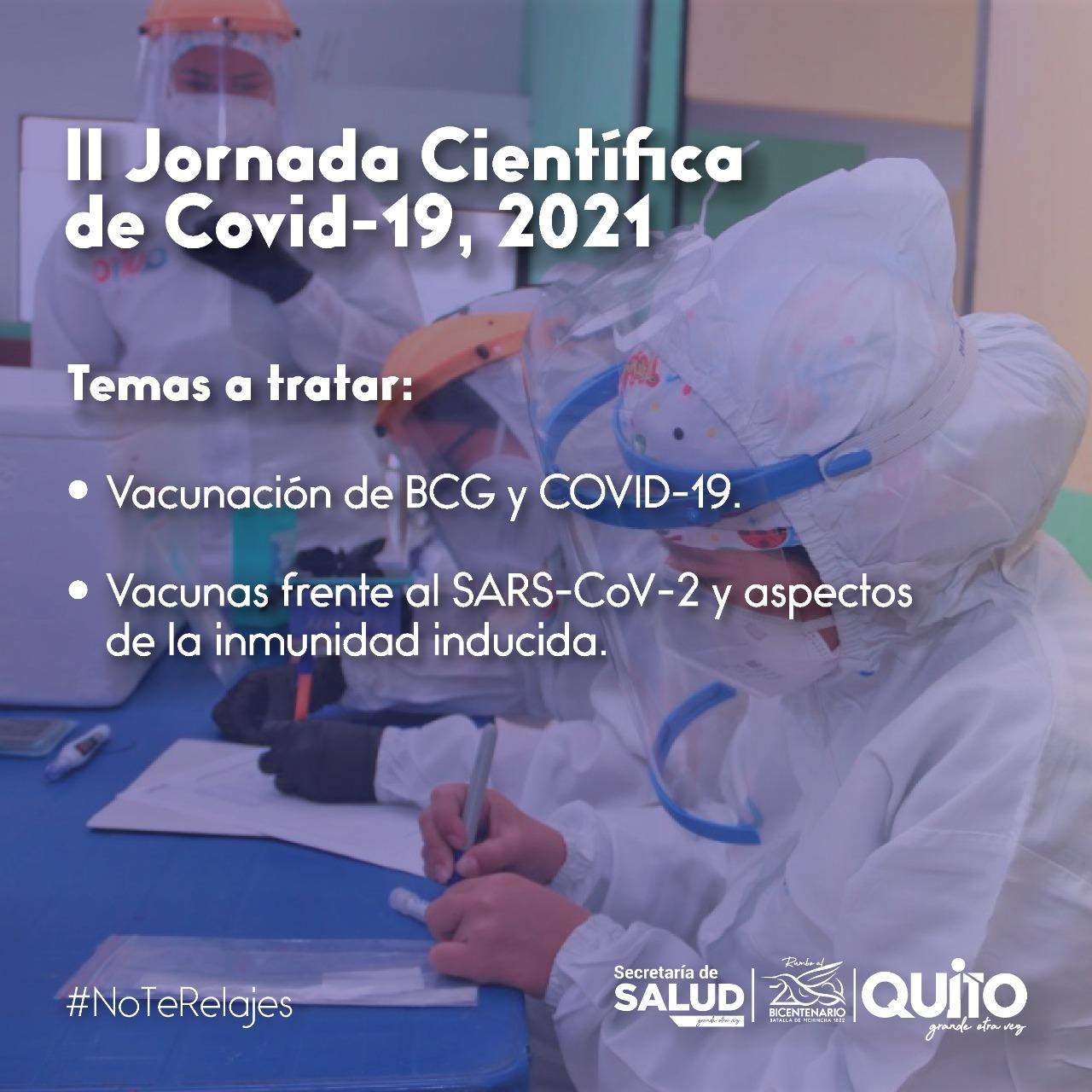 Secretaría de Salud realiza la 'II Jornada Científica de COVID-19'