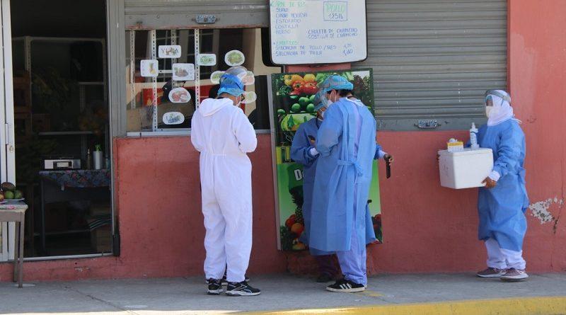 Brigadas municipales sanitarias continúan atendiendo en sitios estratégicos