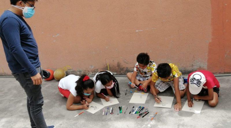 Niños de los barrios La Cristianía y La Josefina reciben talleres de salud mental