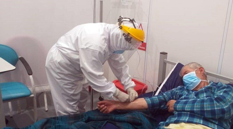 "CAT ""Quito Solidario"" continua atendiendo a pacientes COVID-19"