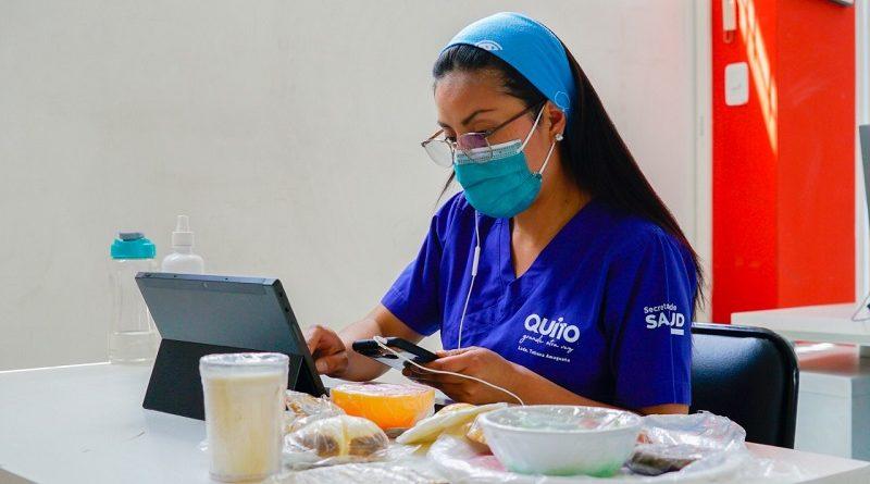 57 atenciones en teleasistencia nutricional para casos positivos de COVID-19 en la semana epidemiológica 33