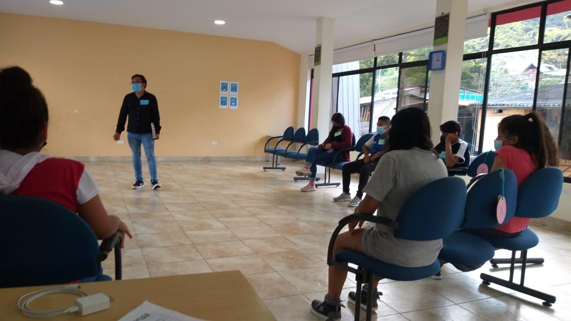 Adolescentes de Casa Somos de Pacto participaron de taller sobre Salud Sexual y Reproductiva