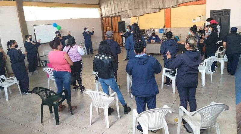 30 comerciantes del Mercado de Cotocollao participan de taller sobre prevención de la violencia