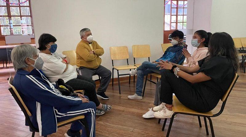 'Encuentro Intergeneracional' en Los Chillos