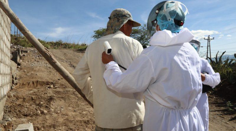 Brigadas sanitarias municipales continúan con su compromiso de mitigación de la pandemia