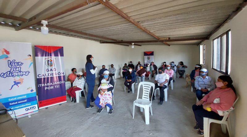 Se realizarán talleres para cuidar la salud mental de los vecinos de Calderón