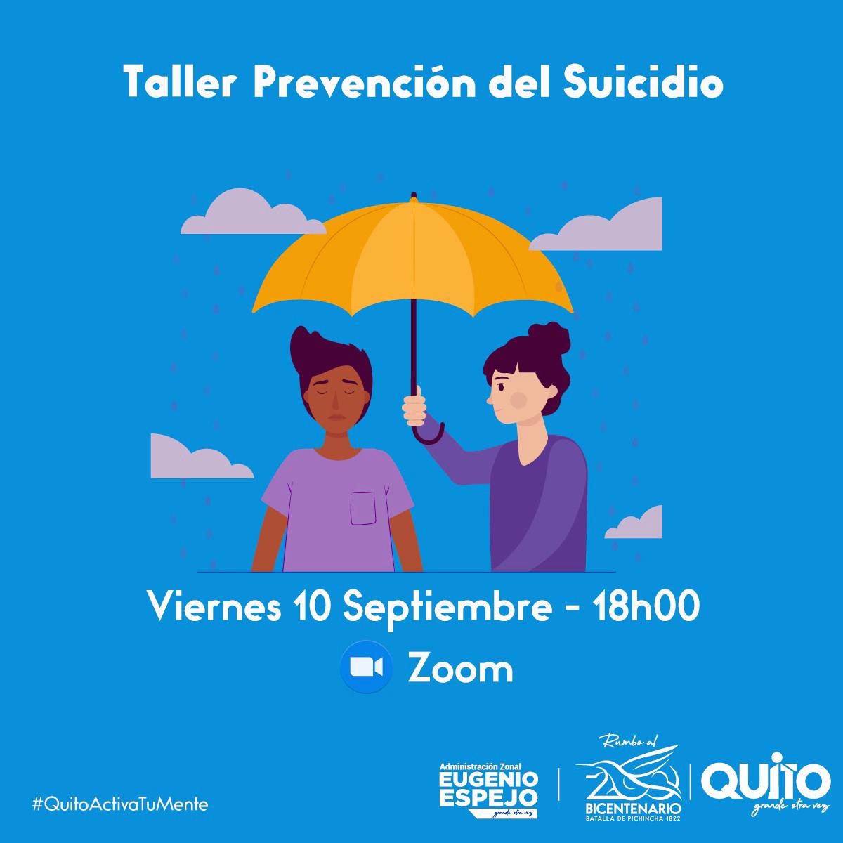 Secretaría de Salud brinda talleres sobre prevención del suicidio