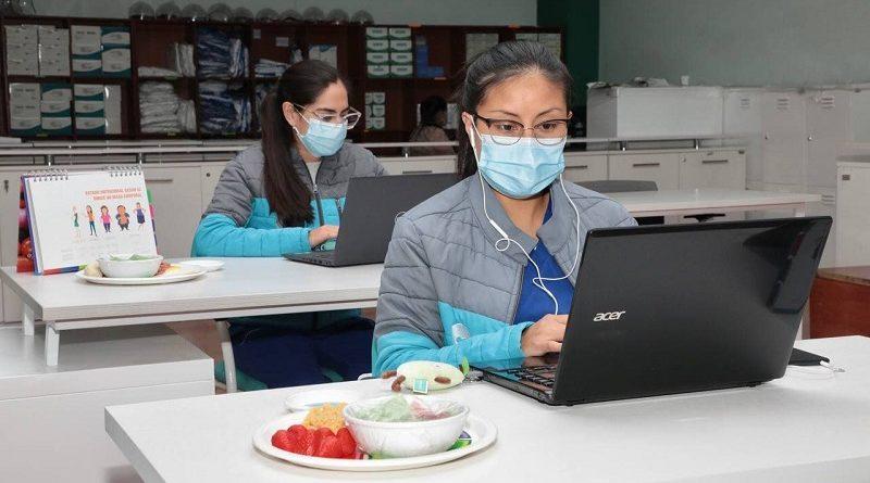 Secretaría de Salud presta teleasistencia nutricional a pacientes COVID-19